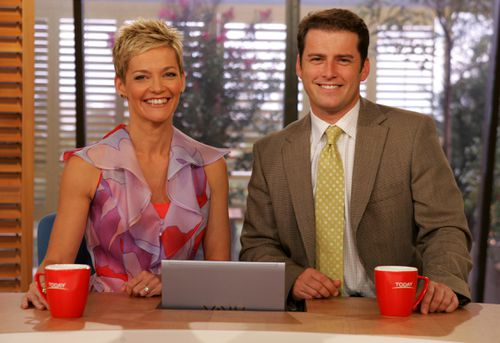 In 2006, Rowe joined the Nine Network to host the TODAY Show, alongside Karl Stefanovic. (Supplied)