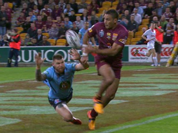 Retiring Hodges sets up brilliant try