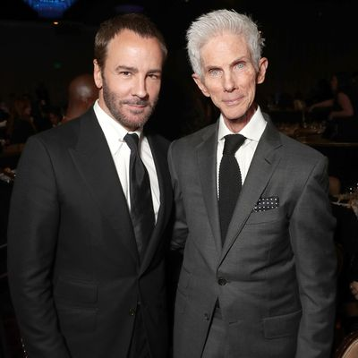 Tom Ford and Richard Buckley: Together since 1986
