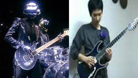 Daft Punk and Zack Kim