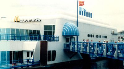 The restaurant as it looked in 1986.