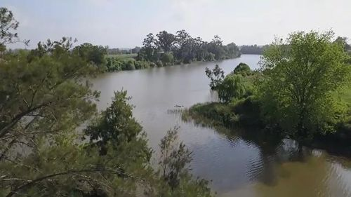 The Nepean River in western Sydney.