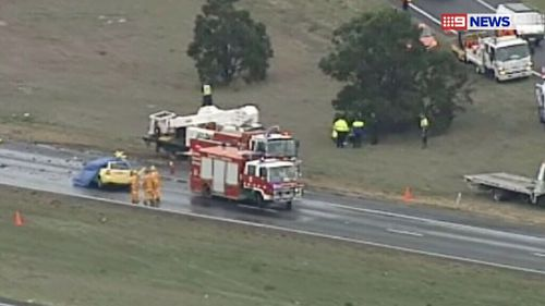 One dead after car collides with truck in Victoria