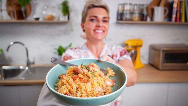 Jane de Graaff cooks no stir cheat's baked risotto