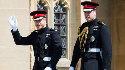 """Prince Harry moments before Royal Wedding<span style=""""white-space:pre;""""></span>"""