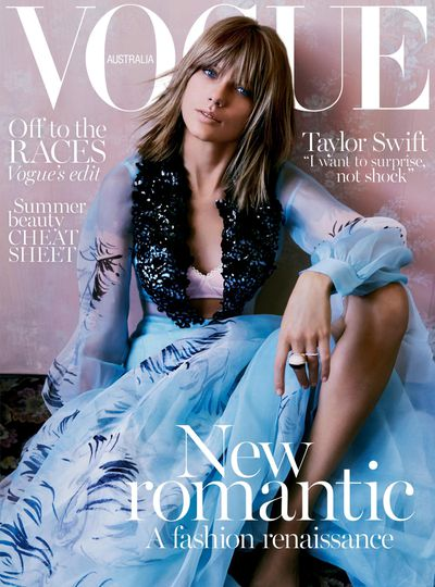 Taylor Swift for <em>Vogue Australia</em> November 2015