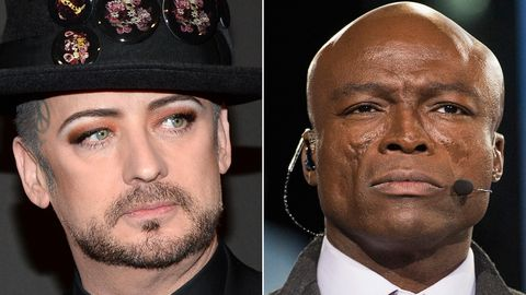 Boy George and Seal feud