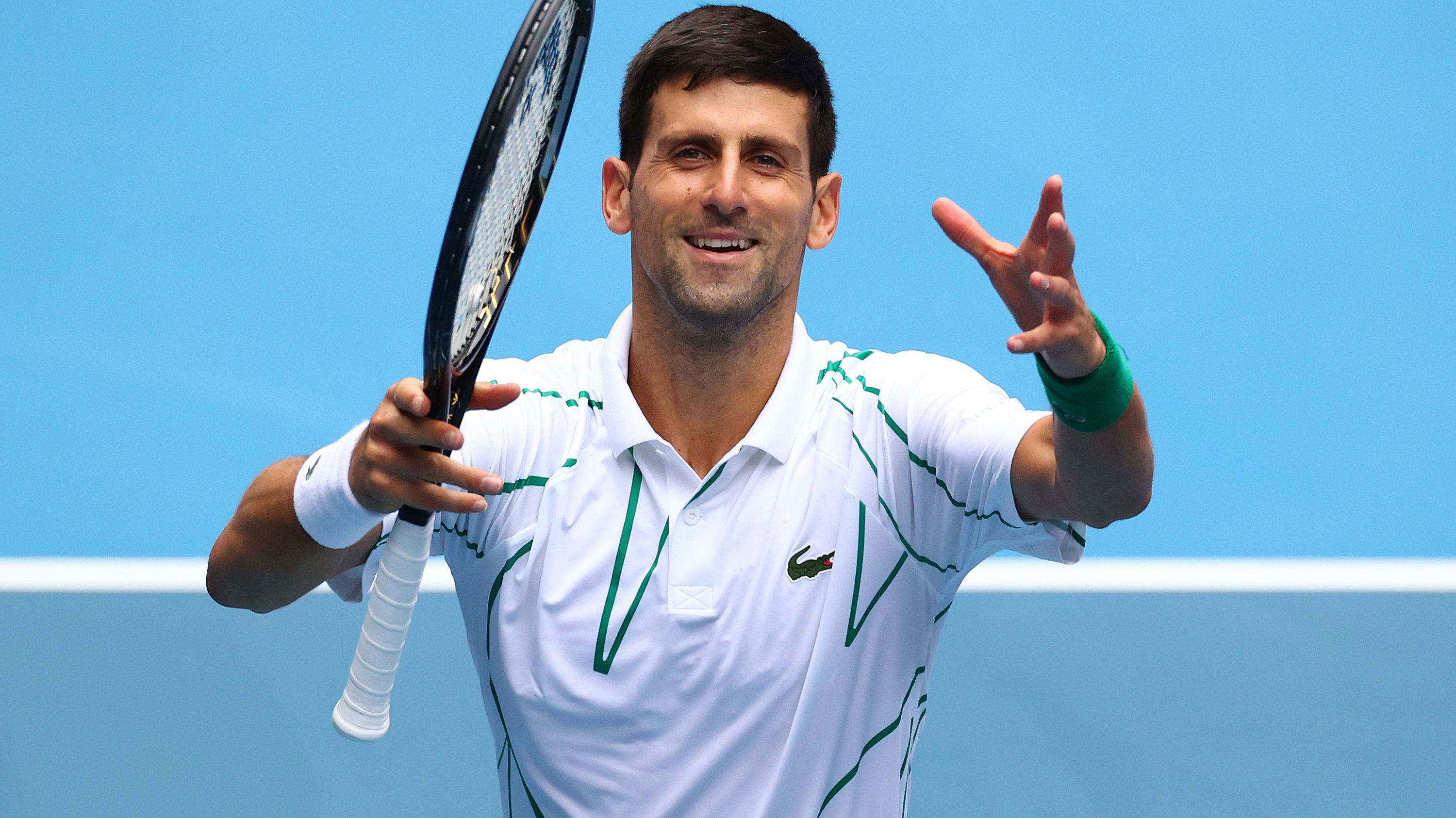 Novak Djokovic in cruise control in comfortable second round win
