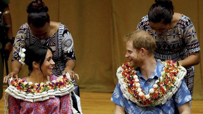 Royal duo spend day nine in blissful Fiji