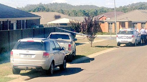 The body of the infant boy was found in a vehicle on Acacia Drive in Kyneton yesterday. (Supplied)