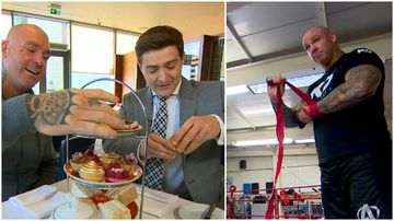 The Aussie boxer who loves tatts and tea