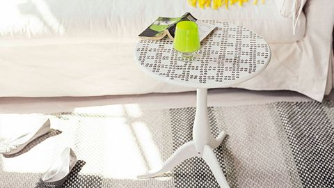 Studded side table