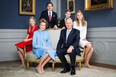 Princess Elisabeth of Belgium celebrates 18th birthday party with new portraits