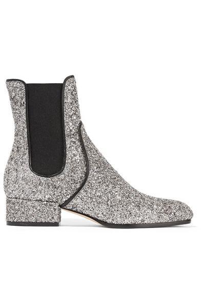 "Jimmy Choo glitter Chelsea boot, $879 at <a draggable=""false"" href=""https://www.net-a-porter.com/au/en/product/791141/jimmy_choo/monty-glittered-leather-chelsea-boots"" target=""_blank"">Net-a-porter</a>"