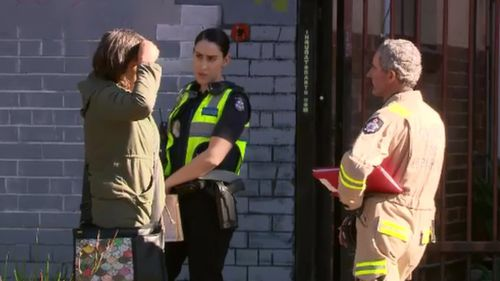 Investigations are now underway. (9NEWS)
