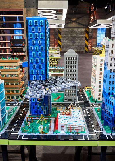 Mega Cities Challenge: Matt and Lyn's Storm Cloud Skyscraper