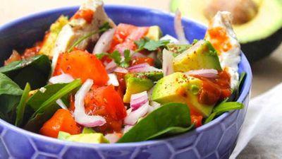 "Recipe:&nbsp;<a href=""http://kitchen.nine.com.au/2016/11/18/16/59/susie-burrells-hangover-cure-mexican-salad"" target=""_top"" draggable=""false"">Susie Burrell's hangover cure Mexican chicken salad</a>"