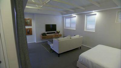 Josh and Charlotte's Master Bedroom on Triple Threat