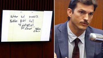 Ashton Kutcher serial killer trial note