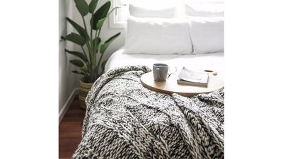 Claudette Chunky Knit Throw