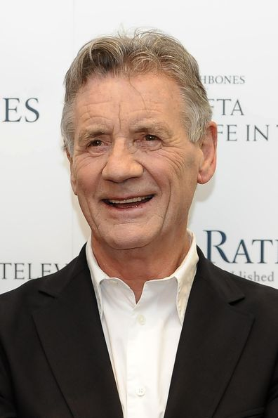 Monty Python star Michael Palin on red carpet