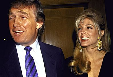 Donald Trump and Marla Maples (Getty)