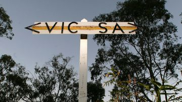 The Victoria-South Australia border