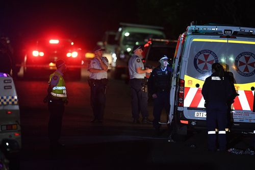 Police said it was one of the most shocking crime scenes they had seen. Image: 9News