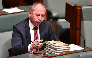 Barnaby Joyce slams 'trillion-dollar' deficit