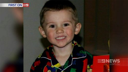 Three-year-old William Tyrell went missing in September. (9NEWS)