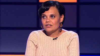 Miranda Tapsell and Mark Humphries test their knowledge on Australia's stats