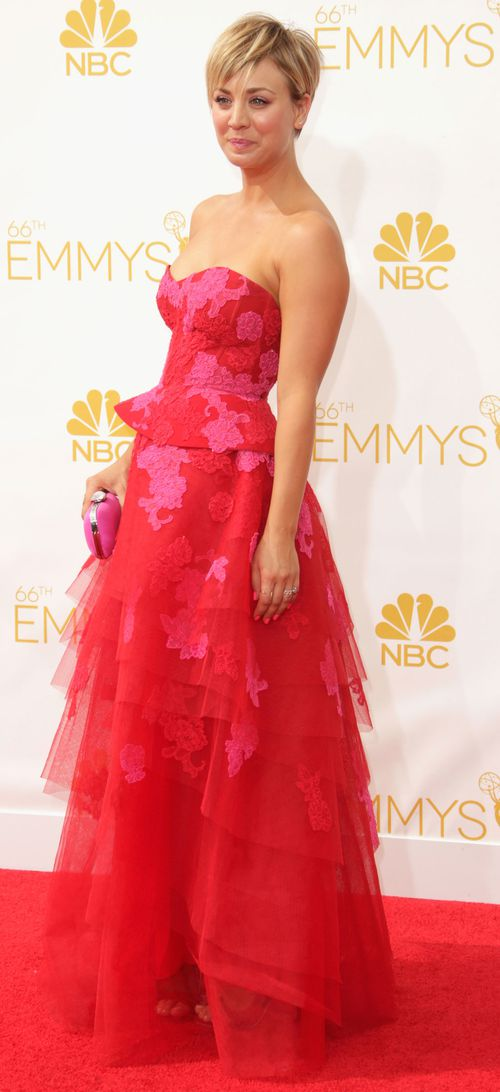 Kaley Cuoco from Big Bang Theory. (Getty Images)