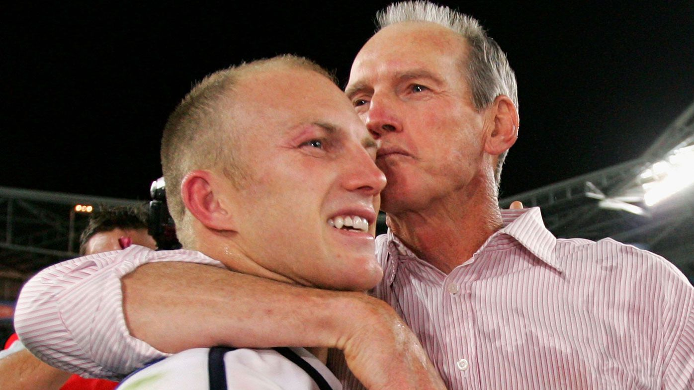 EXCLUSIVE: Darren Lockyer and Wayne Bennett will bury the hatchet for Queensland's Origin cause