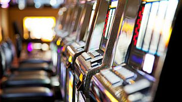 Poker machines (Getty)