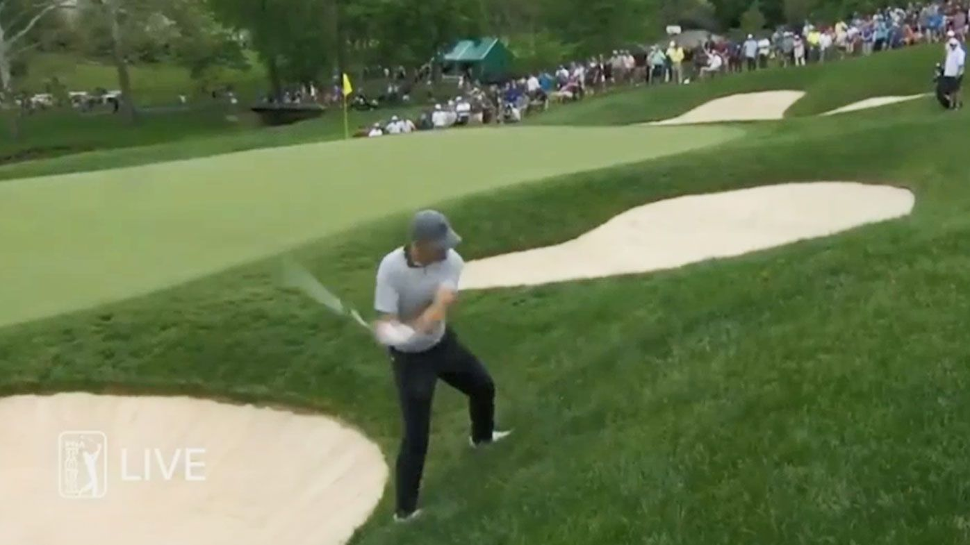 Spieth trails Moore at Memorial, but Woods and Aussies also in the mix