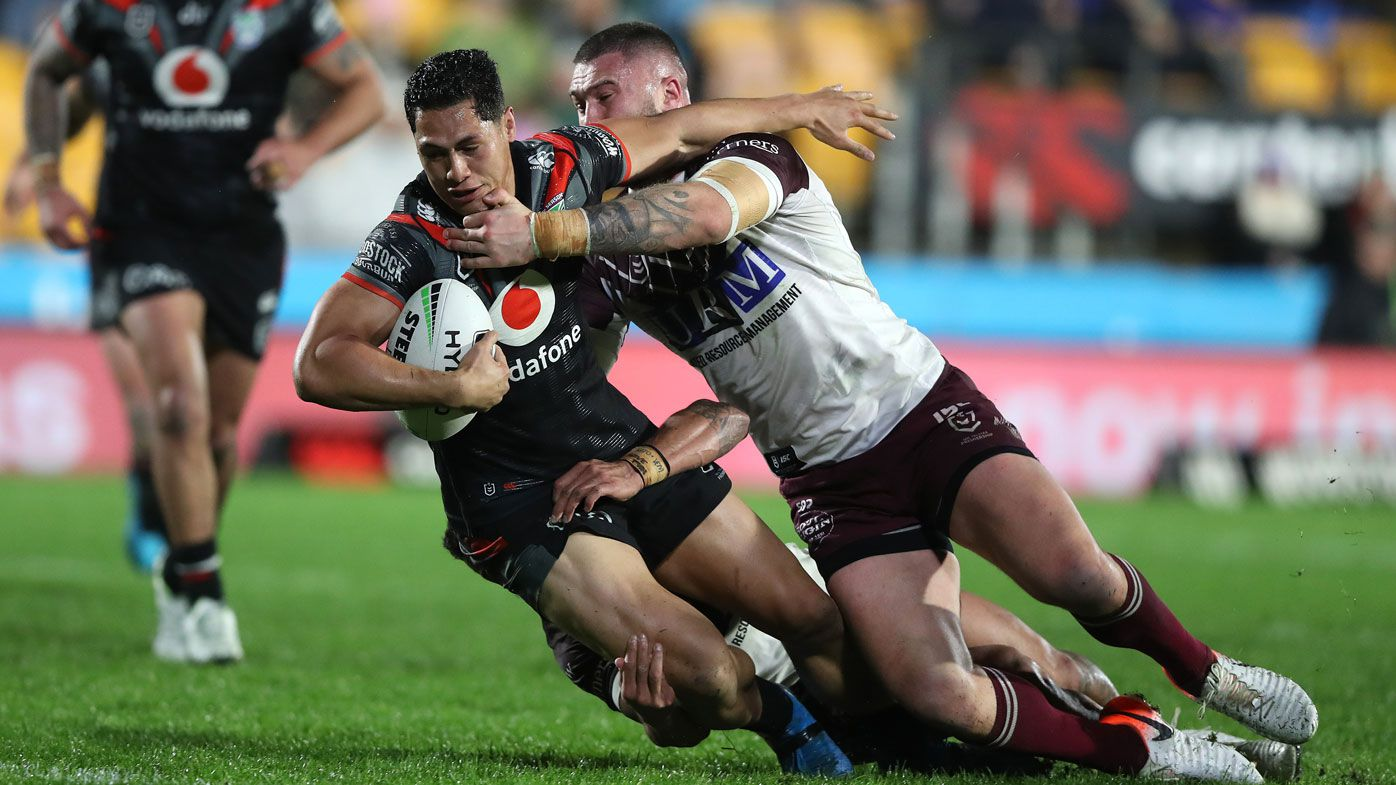 Warriors stun Manly Sea Eagles in NRL boilover