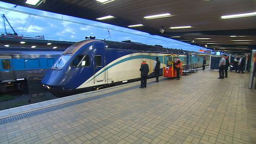 Last XPT train service arrives in Sydney from Melbourne ahead of border closures due to coronavirus. July 7, 2020.