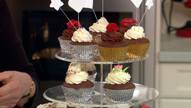 Mississippi mud cup cakes