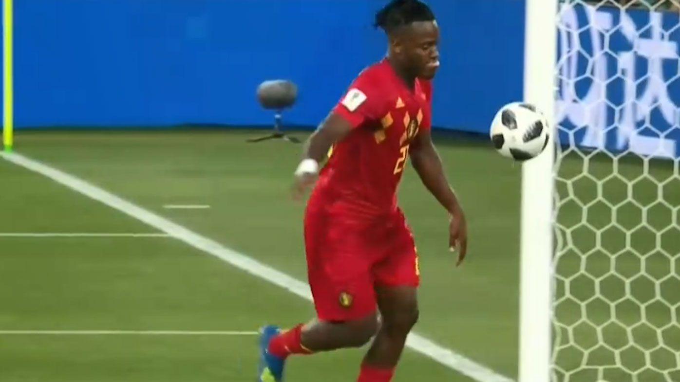Belgian star Michy Batshuayi's celebration 'highlight of the World Cup'