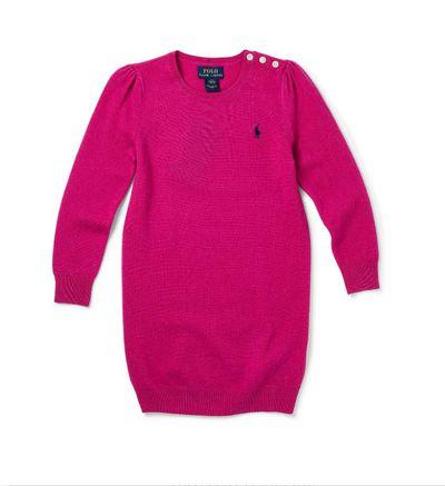 """<a href=""""http://shop.davidjones.com.au/djs/en/davidjones/sweater-dres"""" target=""""_blank"""">Polo Ralph Lauren Sweater Dress, $159.</a>"""
