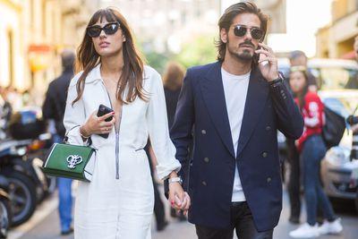 Patricia Manfield andGiotto Calendoli