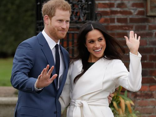 The couple will wed on May 19 at St George's Chapel at Windsor Castle. (PA/AAP)