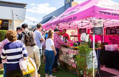 BaconFest stalls