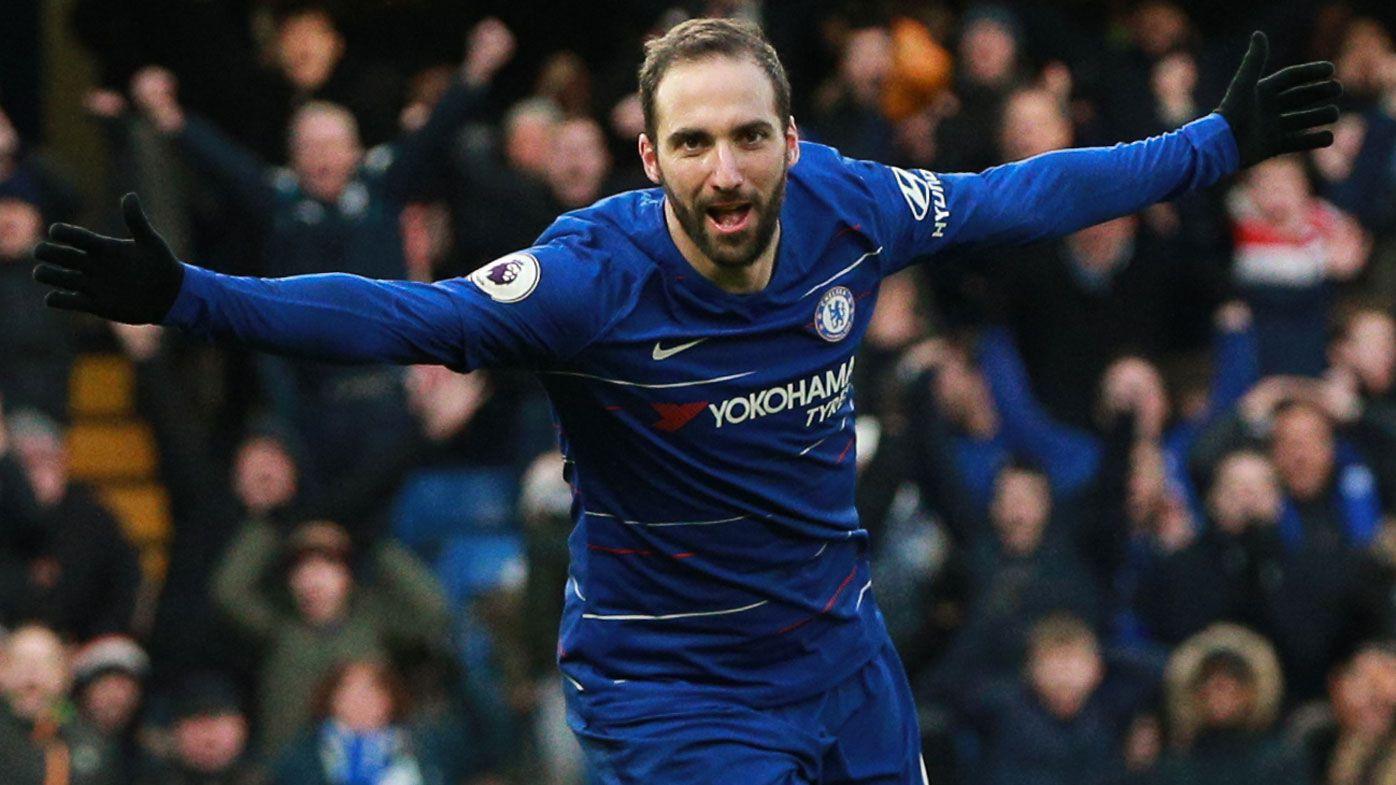 Tottenham go second, Chelsea thrash Huddersfield 5-0 in English Premier League