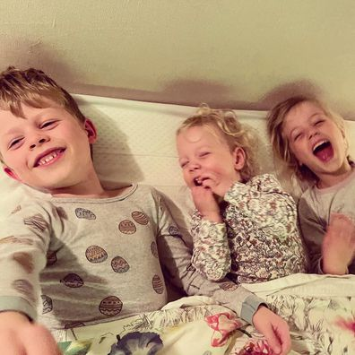 Ben Fordham is feeling grateful for his three children amid the ongoing COVID-19 pandemic.
