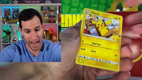 YouTuber Leonhart opens and collects Pokémon cards for a living, he has over a million subscribers.