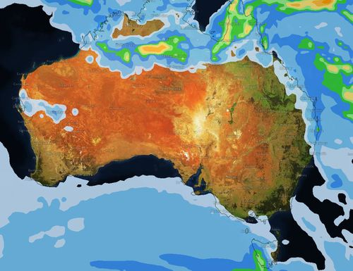 Most of Australia will be dry and sunny on Good Friday, with Tasmania and the Top End expecting some rain over the weekend. (Weatherzone)