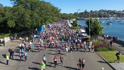 More than 80,000 people registered for the event. (Supplied: William Lynch)