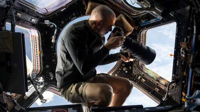 NASA astronaut Chris Cassidy photographs earth from above. (NASA)