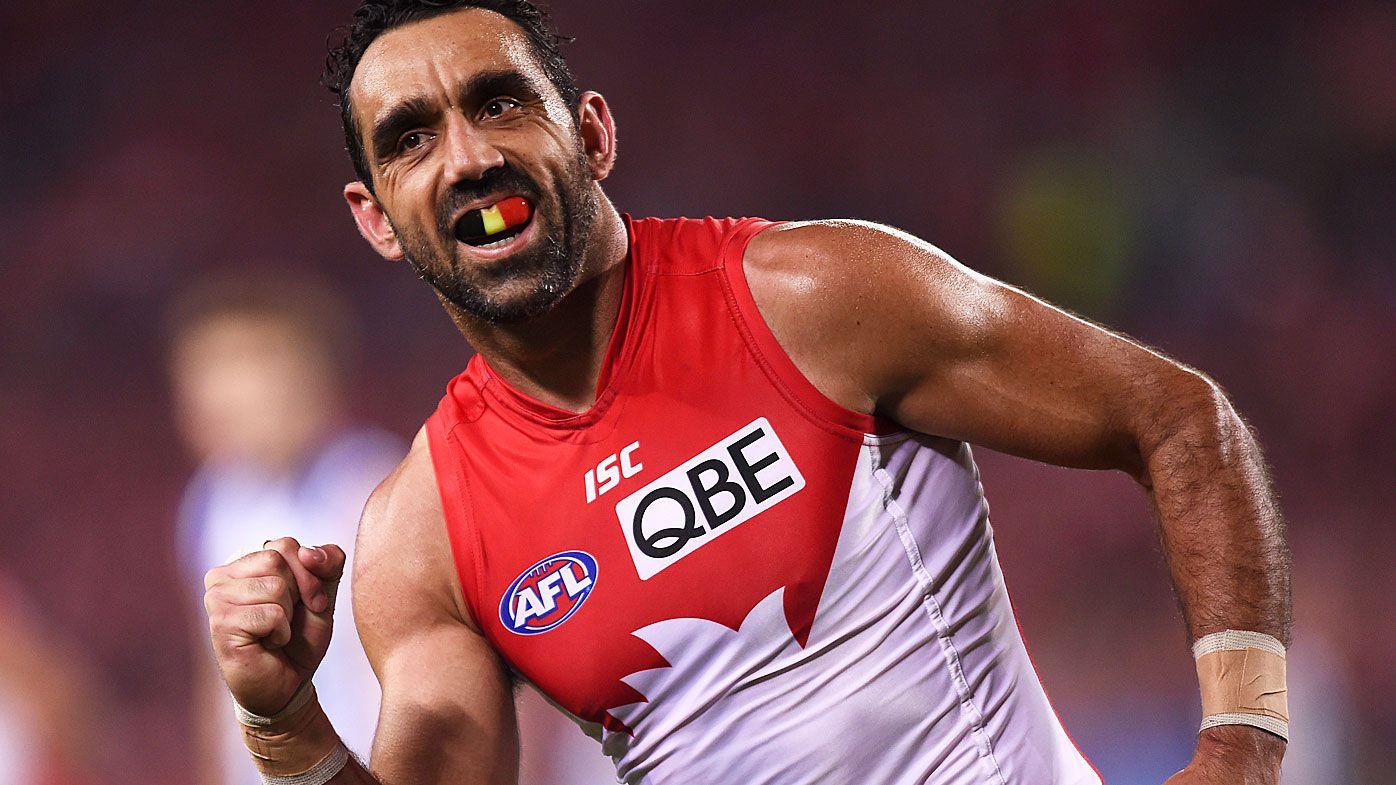 AFL legend Adam Goodes calls for Indigenous war cry for national sport teams